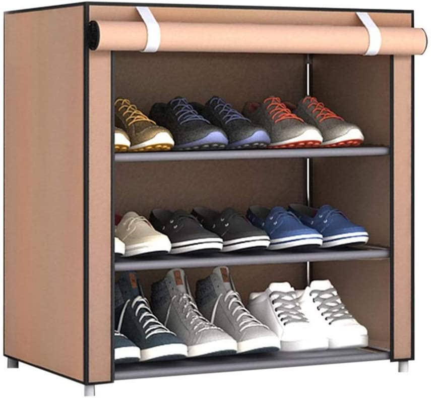 ZHENZHUDAO7 Shoe Special Campaign Racks Rack Cabinet Don't miss the campaign Cover St Non-Woven