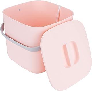 Klädtvättmaskin, bärbar tvättmaskin, Mini 8L hushåll för sovsal för hemmet(Pink)