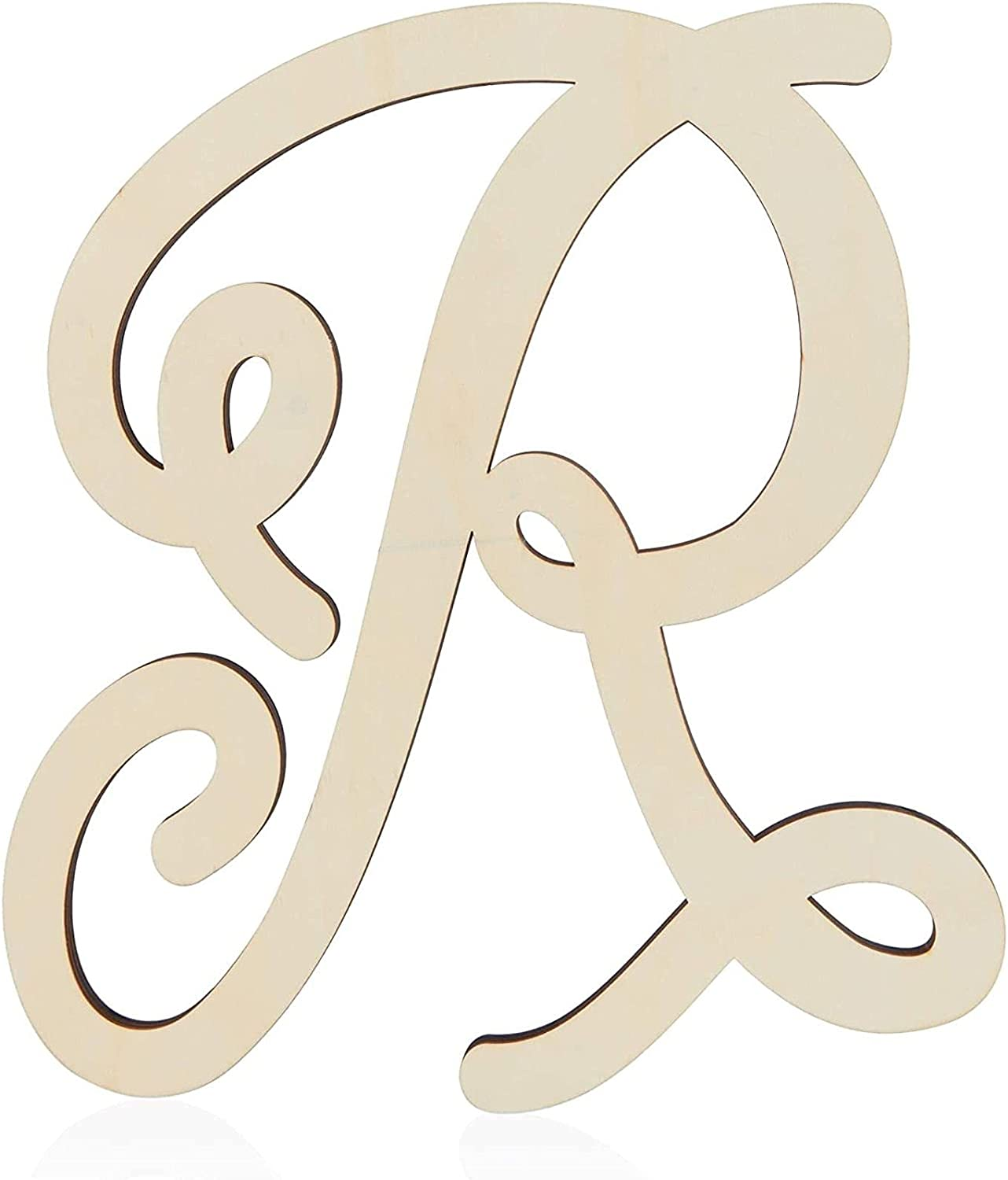 Wooden Monogram Alphabet Letters Decorative 13 R Inches Genuine Letter Popular brand in the world