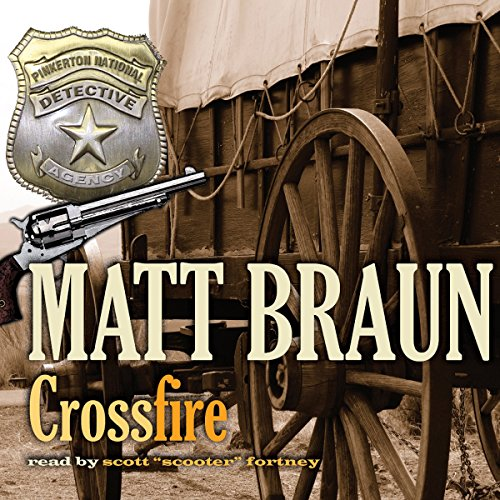 Crossfire Audiobook By Matt Braun cover art