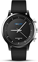 Sports Fitness Tracker Smart Watch Men Boys Women Waterproof Bluetooth Smart Wrist Watch for Android Phones iPhone (Black)