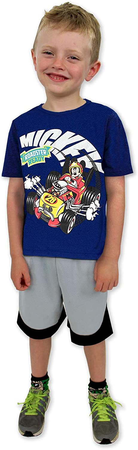 Mickey Mouse and The Roadster Racers Boys Short Sleeve Tee (Baby