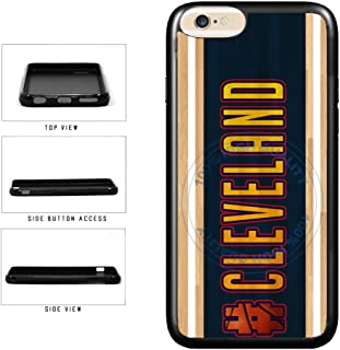 BleuReign(TM) Basketball Team Hashtag Cleveland #Cleveland TPU RUBBER SILICONE Phone Case Back Cover For Apple iPhone 6 Plus and iPhone 6s Plus (5.5 Inches Screen)