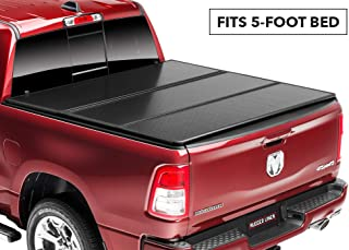 Rugged Liner E-Series Hard Folding Truck Bed Tonneau Cover | EH-T516 | fits 16-18 Tacoma Double Cab 5ft. (with utility track), 5' bed