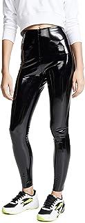 Women's Faux Patent Leather Perfect Control Leggings
