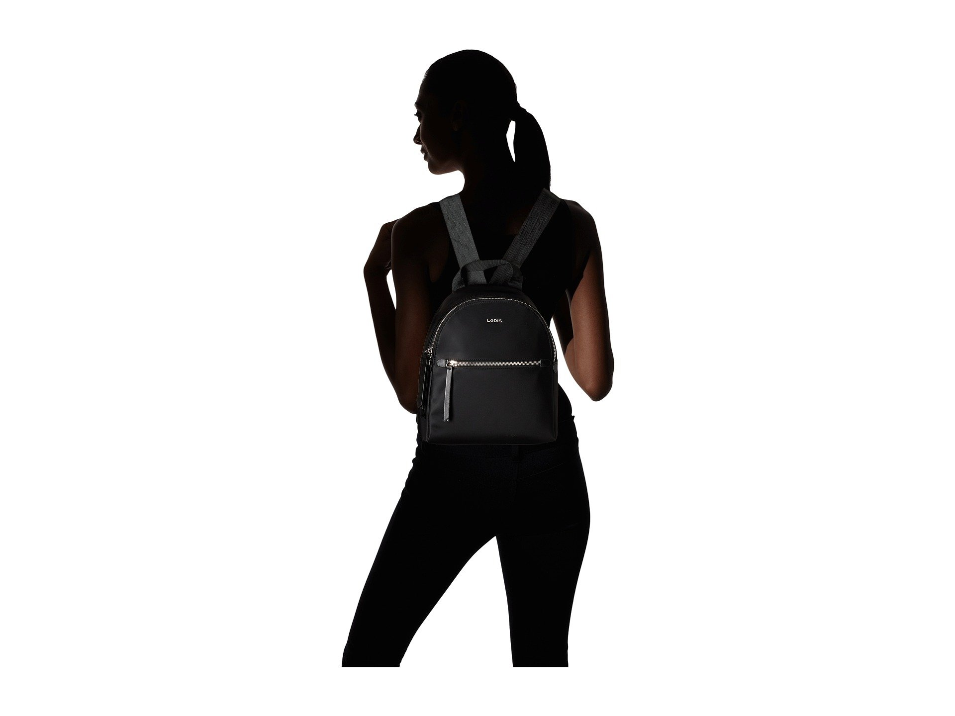 Lodis Accessories Black Small Nylon Sports Backpack Ginnie 04Ox0qwr