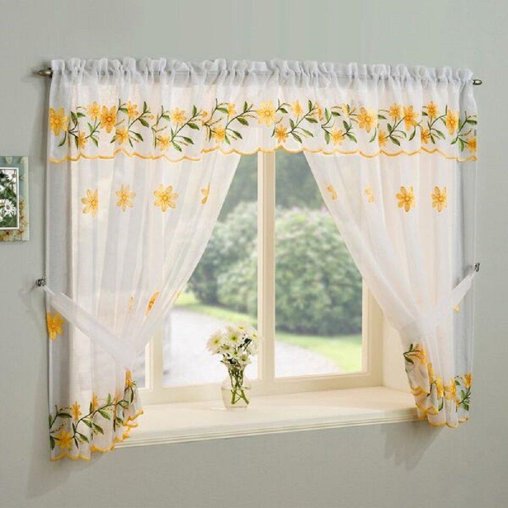 Amazon UK & Kitchen Window Curtains: Amazon.co.uk