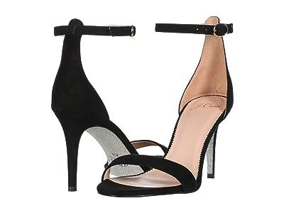 J.Crew Riley Heel (Black Suede) High Heels