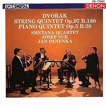 Antonin Dvorak Quintets, Op. 97 & 5