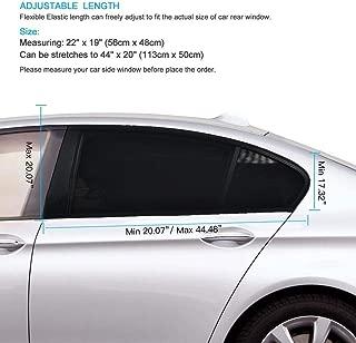 A1 Rear Side Window Sun Shade for Baby Car Door 2pc