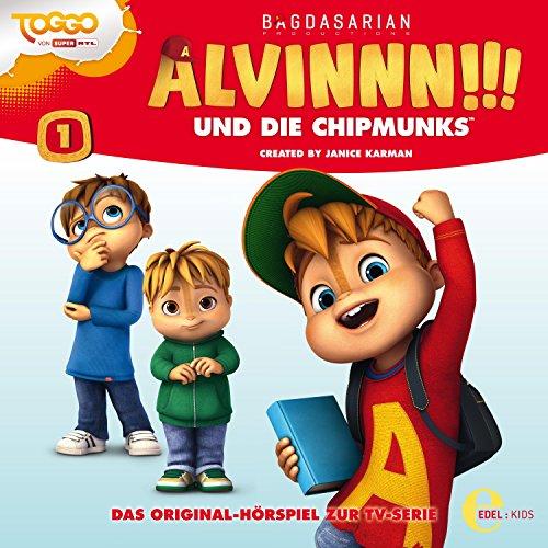 Der magische Geburtstag (Alvinnn!!! und die Chipmunks - Hörspiel 1) Titelbild