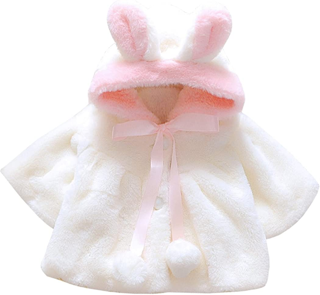 AnKoee Super sale period limited Great interest Infant Baby Girl Coat Out Toddler Cotton Cute Jacket