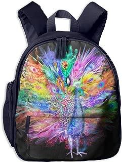 Pinta Peacock Cub Cool School Book Bag Backpacks for Girl's Boy's