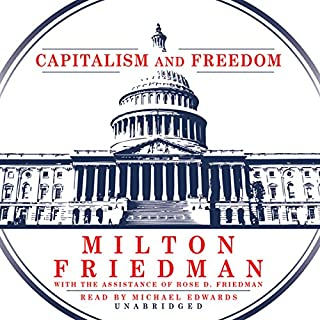 Capitalism and Freedom audiobook cover art