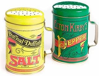Nostalgic Salt And Pepper Shaker Set