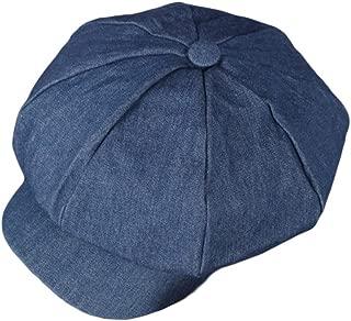 Women's Vintage Cotton Newsboy Cabbie Hat Cap
