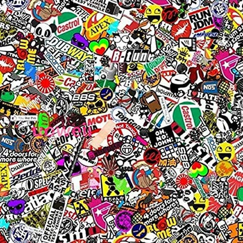 Graffiti vinyl wrap