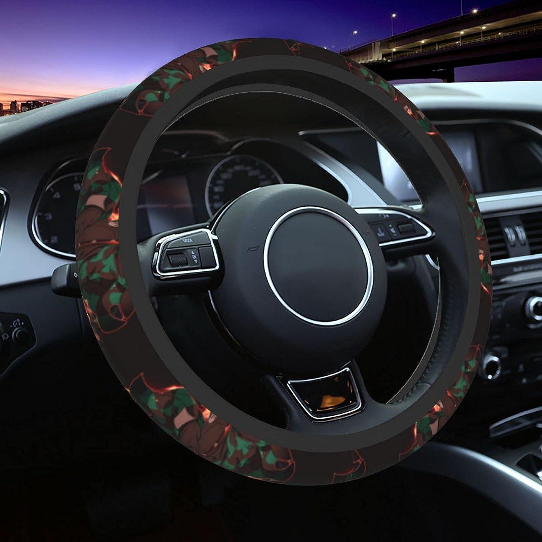 Demon Slayer Car Steering Wheel Cover Large special price !! Men Slip Anti Neoprene for Max 85% OFF