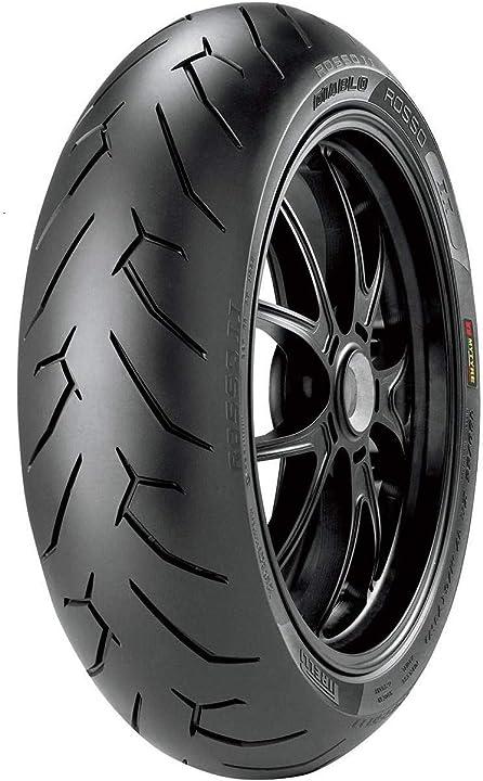 Pirelli diablo rosso 2 supersport - 140/70 r 17 m/c 66h - moto B004X6C3TI