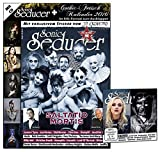 Sonic Seducer 09-2015 inkl. Gothic-Fetisch Kalender 2016 im XXL-Format + exkl. Sticker von In Extremo + CD mit über 80 Min. Spielzeit, Bands: Saltatio Mortis (Titel), Die Krupps, Oomph! u.v.m.