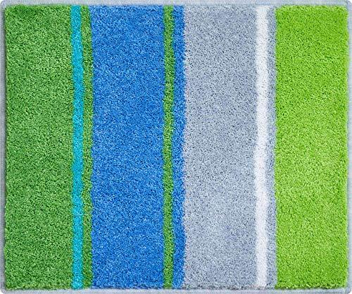 Grund Summertime Badmat, polyacryl Supersoft, Oceaan, 50 x 60 cm
