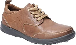 Hush Puppies Mens Apollo Lace Up Leather Shoe