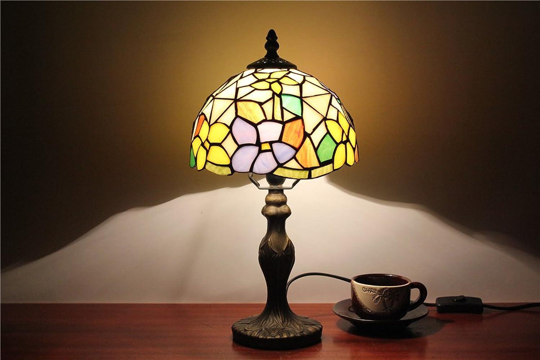 MEHE HOME-8-Zoll-grüne pastorale Landschaft Ehe Raum Tischlampe Schlafzimmerlampe Schlafzimmerlampe Schlafzimmerlampe Tischlampe Catering Tischlampe B01FVP7PLK | Günstige Bestellung  ac3957
