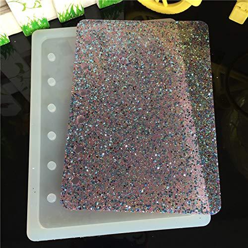 sina Kleines Notebook Silikonform-Kleine Notebook Tropfen Form-Kleines Notebook handgefertigte Silikonform-2Stück