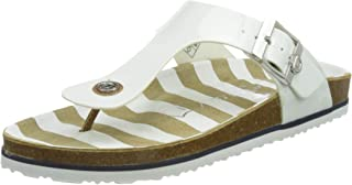 TOM TAILOR Damen 1193401 Flache Sandale