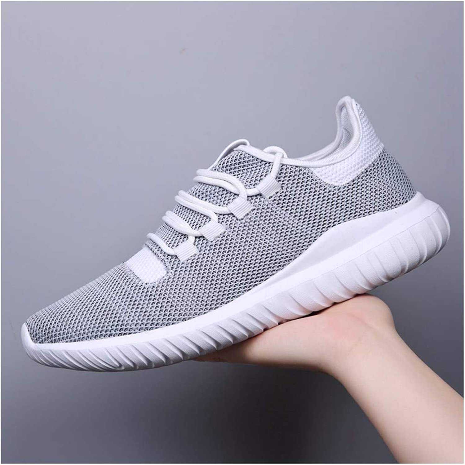 YAYADI shoes Men'S Sneakers Fashion Breathable Casual Men Trainers Jogging Fitness shoes Lightweight Yoga Riding Travel Outdoor Products