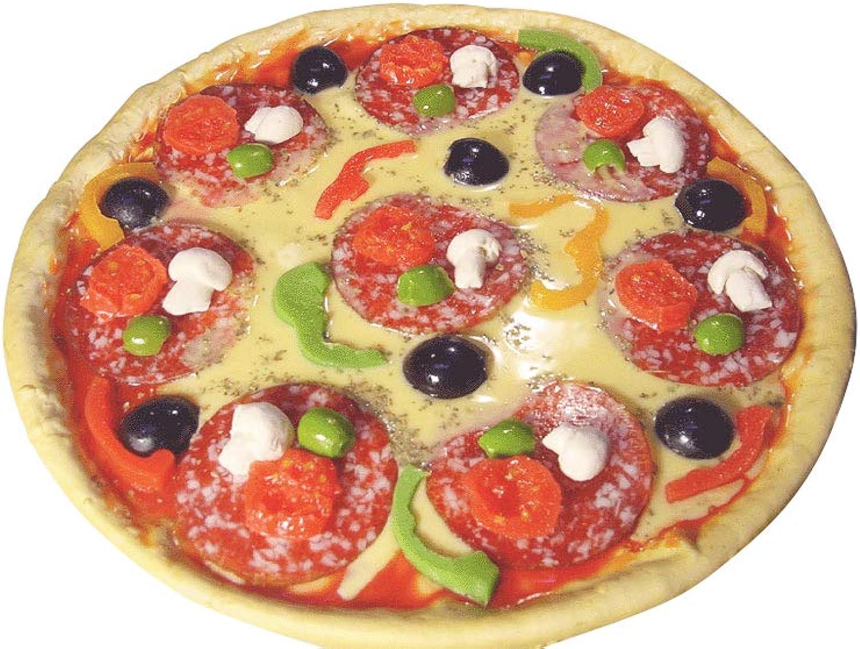ERRO Pizza gro - Lebensmittelattrappe, Fake Food, Imitation, Bühnen und Theater Requisite, Pizzeria Restaurantdeko