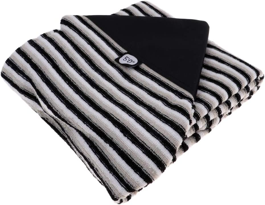 Nippon regular agency Tachiuwa Stretch Surfboard Sock Cover High order Black Boar - Lightweight