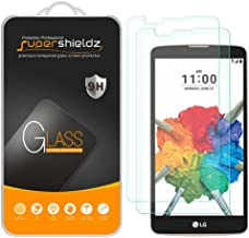 (2 Pack) Supershieldz for LG Stylo 2 V (Verizon) Tempered Glass Screen Protector, Anti Scratch, Bubble Free