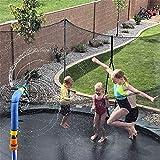 Trampolin Sprinkler für Kinder, Trampolin Wassersprinkler Trampolin Spray Wasserpark Garten...