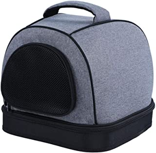 Zzyff Cat Tent, Pet Handbag Soft and Comfortable Arched Bag is A Nest is Also A Cage Closed Cat Nest Shape Firm and Beautiful Portable Pet Supplies Durable