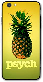 Happy Index Psych Pineapple iPhone 6s Plus / 6 Plus Case Soft TPU Shell Full Protective Bumper Anti-Scratch Case Enhanced Grip Protective Defender Cover