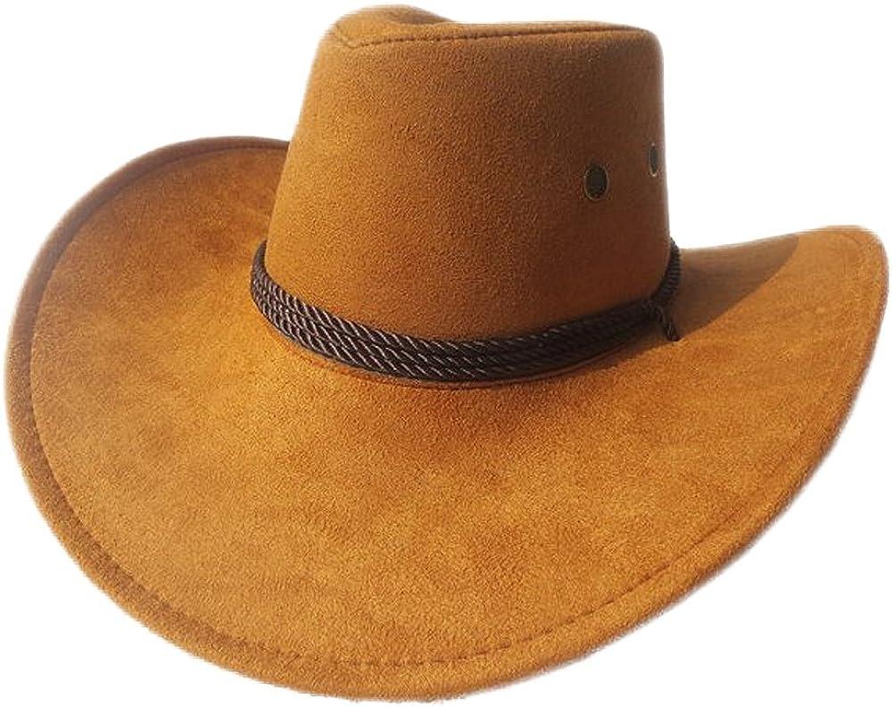 thuizen Sale Westworld Cowboy Hat Faux Felt Wide Brim Limited price sale Ha Trip Outdoor