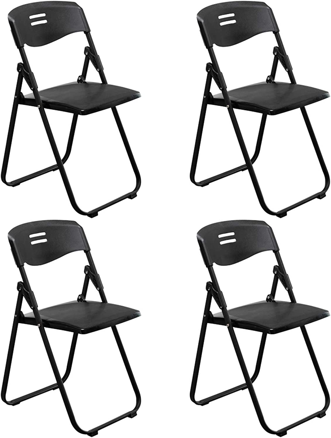 BRLUCKY Home HomeLiving 4pcs Office Conference Max 89% OFF Super popular specialty store Plastic Folding C
