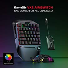 Alician GameSir VX2 Single Hand 2.4G Wireless Bluetooth Gaming Keyboard with Mouse For Xbox/PS3/PS4/Switch/PC