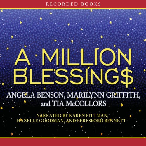 A Million Blessings audiobook cover art
