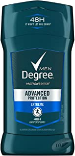 Degree Extreme Advanced Protection Antiperspirant Deodorant Stick, 2.7 oz (Pack of 4)