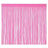 Fringe Trim Tassel 8 inch Wide 2 Yards Long for Clothes Accessories Latin Wedding Dress DIY Decoration (8in,Pink)
