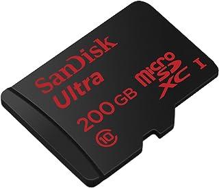 プロフェッショナルウルトラ200GB SanDisk Nubia z11Max microSDXCカードwithカスタムHi - Speed、ロスレス形式。は標準SDアダプタ。( UHS - 1クラス10認定90MB / s )