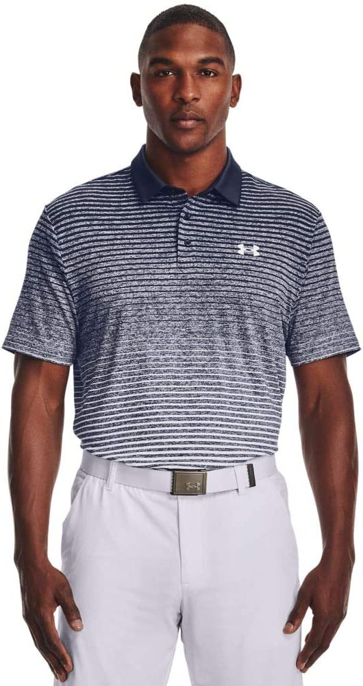 Under Armour Men's Max 63% OFF Playoff 2.0 Golf 447 Polo Inexpensive Academy Blue Wh