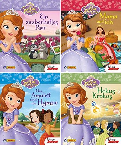 Nelson Mini-Bücher: 4er Disney Sofia die Erste 1-4