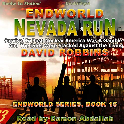 Endworld: Nevada Run audiobook cover art