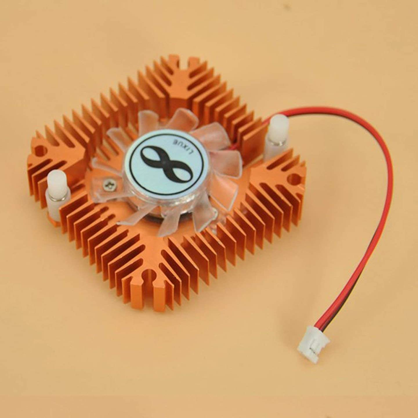 shengerm Fashionable Design Durable Metal Material Cooling Fan Heatsink Cooler for CPU VGA Video Card for PC Computer