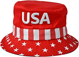 DISHIXIAO USA Baseball Cap Polo Style Adjustable Embroidered Dad Hat American Flag for Men and Women