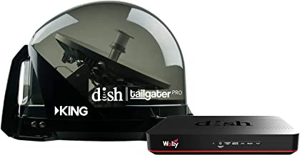 RV Wholesale Direct Dish Bundle DTP4900 Tailgater PRO Premium Satellite TV Antenna w/Wally Receiver