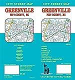 Greenville / Pitt County, North Carolina Street Map